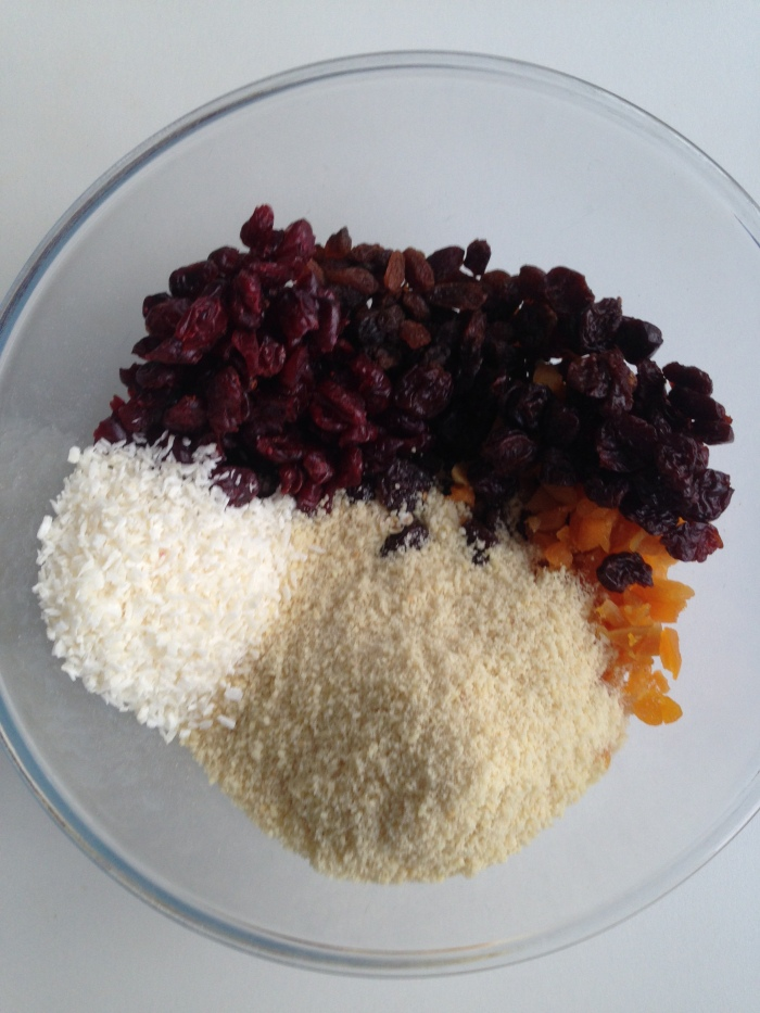 fruit flapjack ingredients