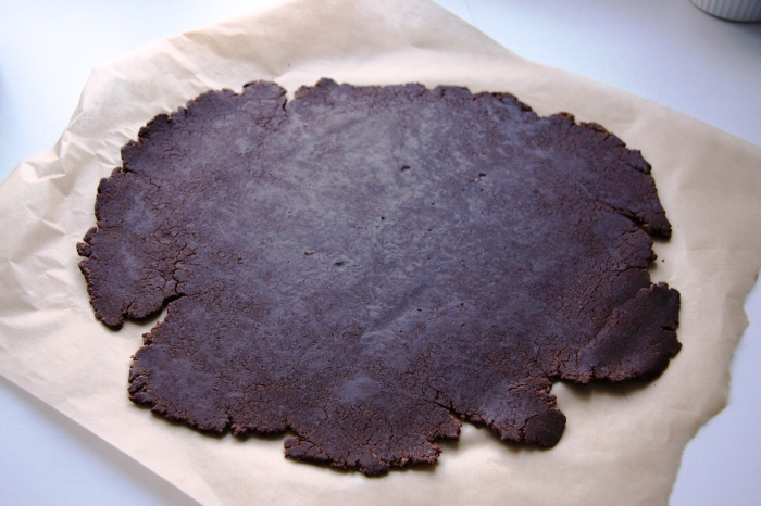 chocolate biscuit dough