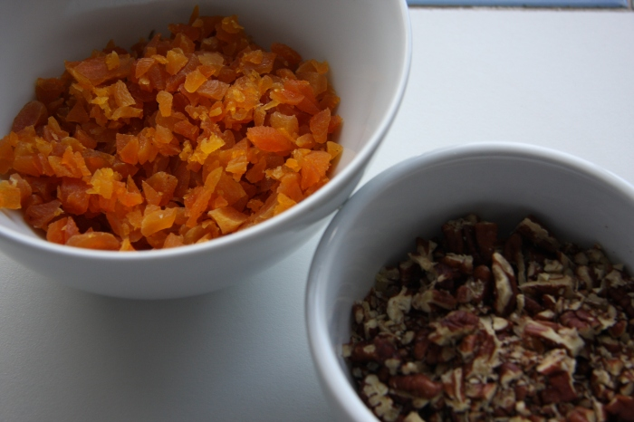 apricots and pecans