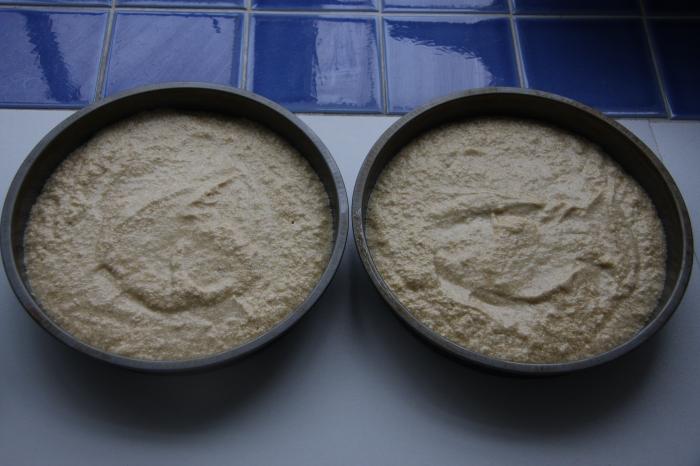 making sponge cake