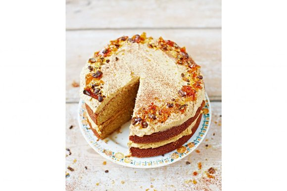Jamie Olivers Cappuccino Cake lovinghomemade