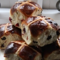cranberry chocolate buns