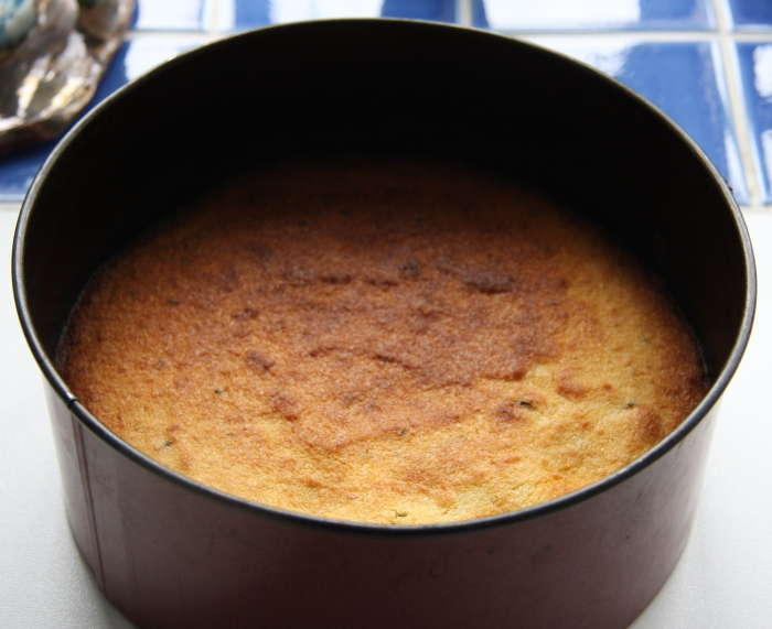 rosemary polenta cake
