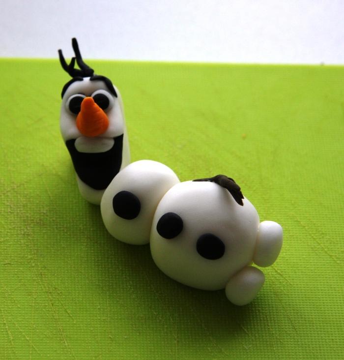 sugarpaste Olaf
