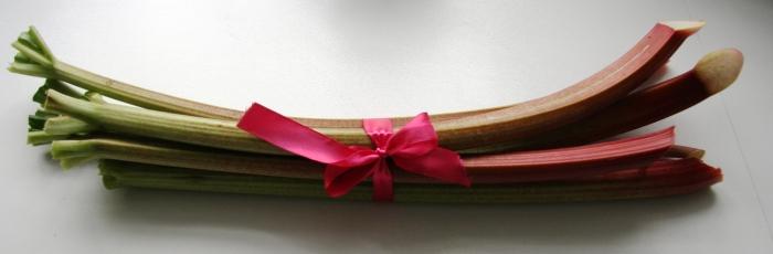 rhubarb as a gift