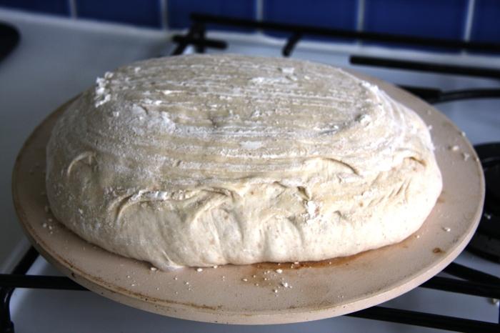 baking sourdough