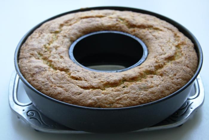 courgette pistachio cake