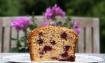 blackberry coconut loaf