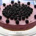 blackberry cheesecake
