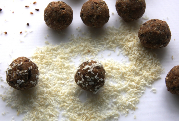 oat almond balls
