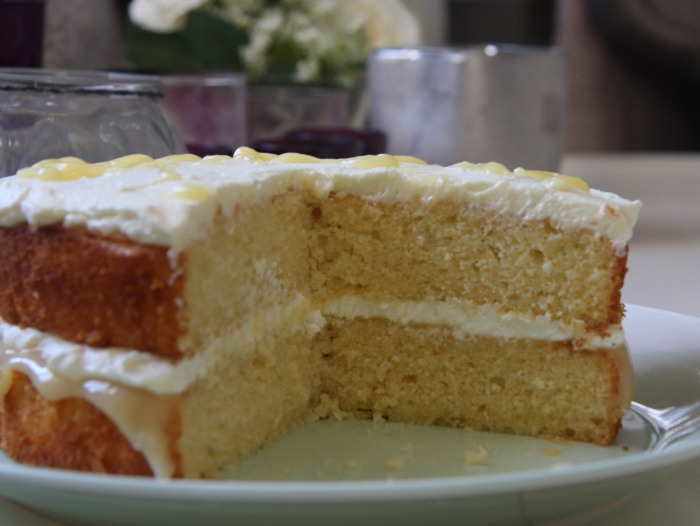 Cake Recipes Using Lemon Curd: Lemon Curd Sponge Cake