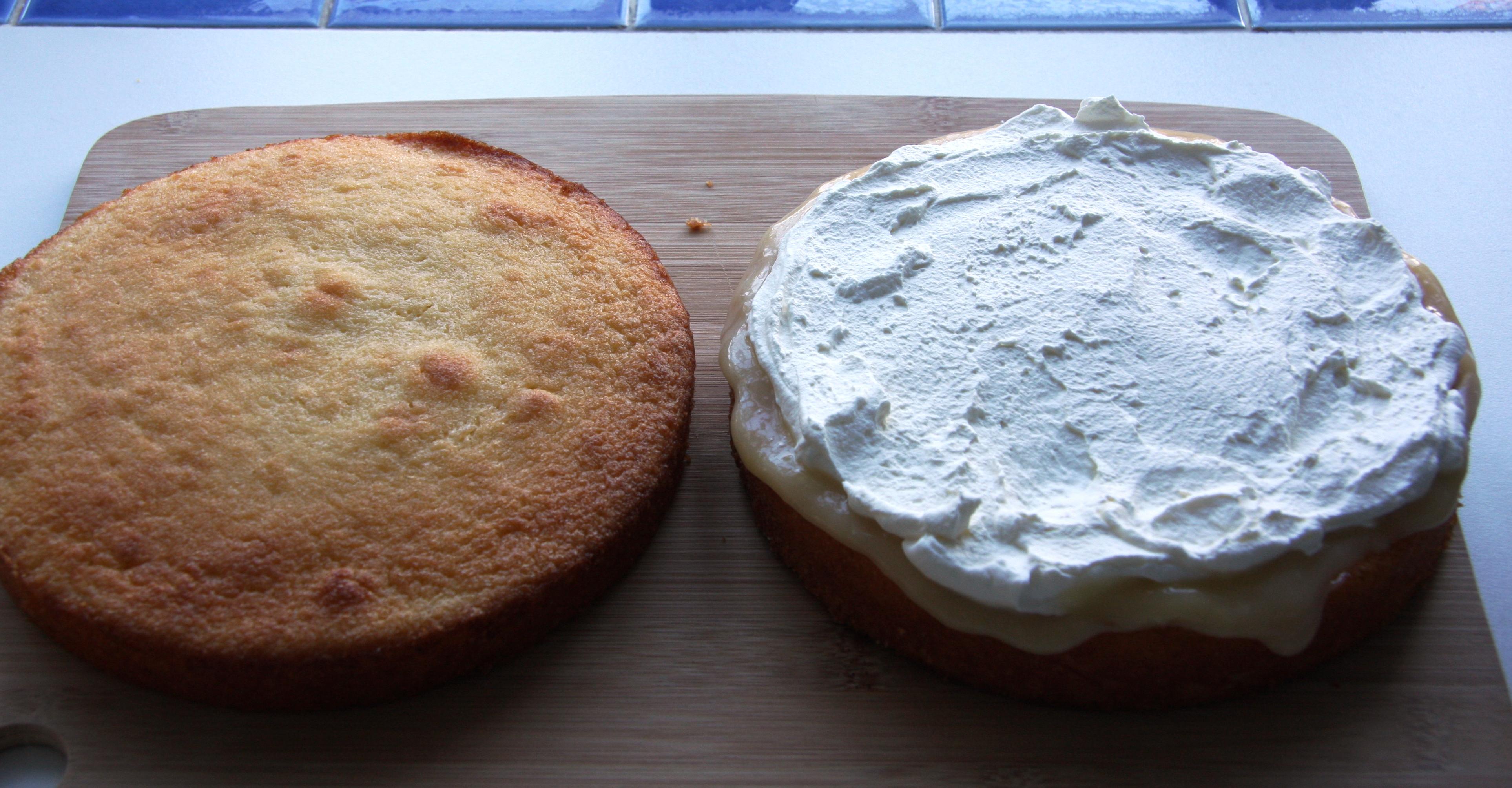 Sponge Cake Recipe Lemon Curd
