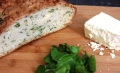watercress cheese soda bread