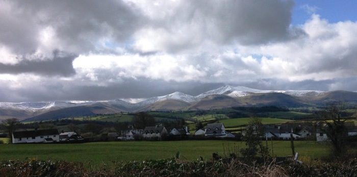 brecon beacons snow