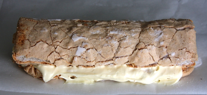 lemon meringue roulade