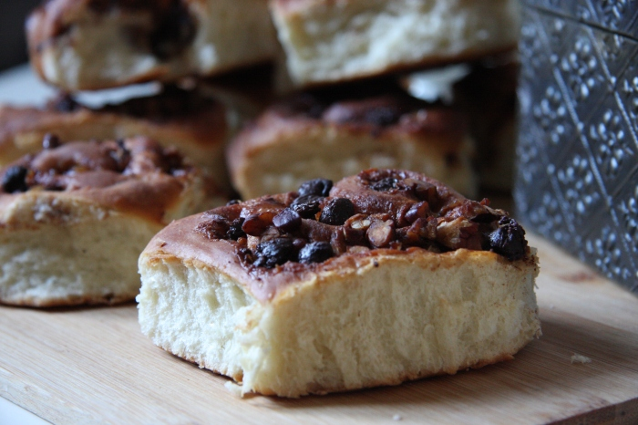pecan chocolate cinnamon buns