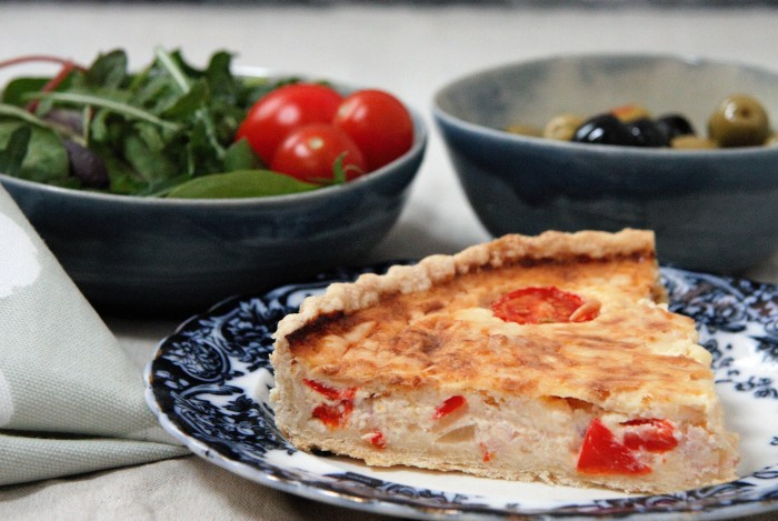quiche lorraine peppers