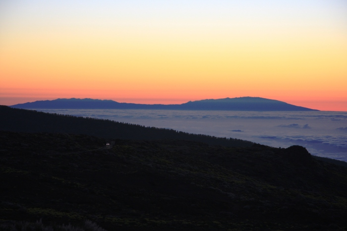 Mount Teide sunset