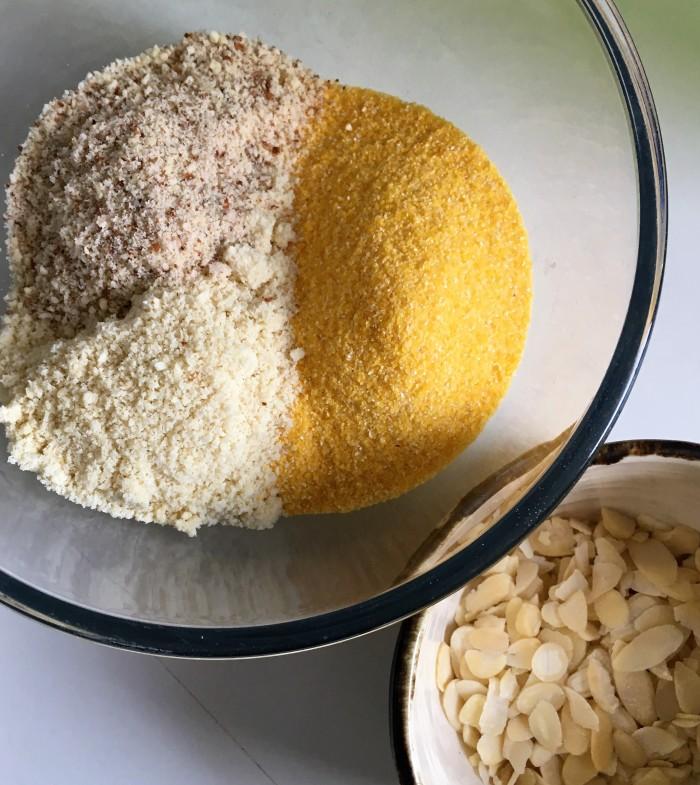 polenta almonds
