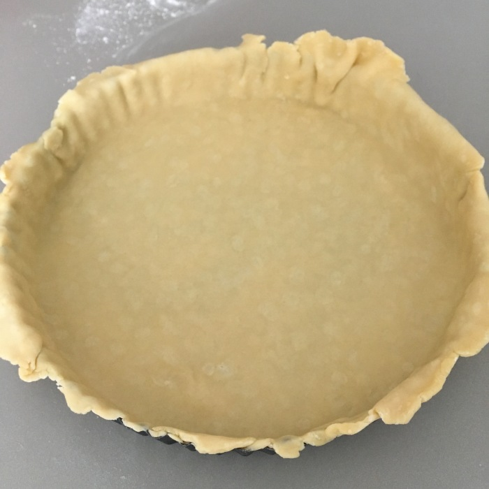 Making quiche pastry