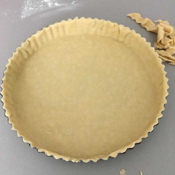 quiche pastry