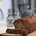 banana courgette loaf